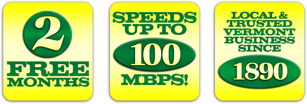 2 months and speeds up to 100 mbps